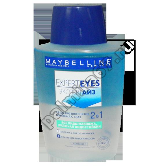 Maybelline Expert Eyes средство для снятия макияжа 2в1